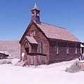 Church Bodie Ghost Town California by Kevin Heaney