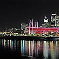 Cincinnati Skyline 3 by Jeff Brunton