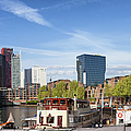 City Of Rotterdam In Netherlands by Artur Bogacki