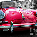 Classic Red P Sports Car by Edward Fielding