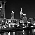 Cleveland In Black And White by Frozen in Time Fine Art Photography