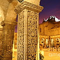 Cloisters At Sunset Arequipa by James Brunker