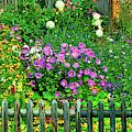 Close-up Of Flowers, Muren, Switzerland by Panoramic Images