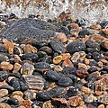 Coastal Rocks And Pebbles by Dr Keith Wheeler