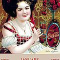 Coca - Cola Vintage Calendar by Gianfranco Weiss