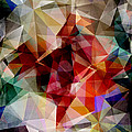Colorful Geometric Abstract by Phil Perkins
