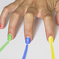 Colorful Nails by Paulo Goncalves