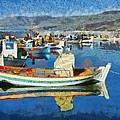 Colorful Boats by George Atsametakis