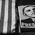 Commercialization Of The President Of The United States Of America In Black And White  by Rob Hans