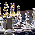 Competition - Chess by Lori Lejeune