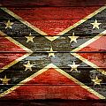 Confederate Flag 1 by Les Cunliffe