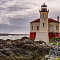 Coquille River Lighthouse by John Trax