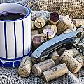 Corks With Corkscrew by Paulo Goncalves