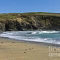 Cornish Seascape Gunwalloe by Brian Roscorla