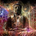 Cosmic Buddha by Mynzah Osiris
