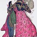 Costume Design For The Ballet La by Leon Bakst
