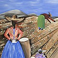 Cotton Pickin' Cotton by Patricia Sabree