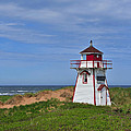 Covehead Harbour Lighthouse by Tony Beck
