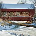 Covered Bridge by Eunice Gibb