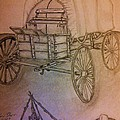 Covered Wagon by Irving Starr