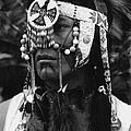 Crow Native American Traditional Dress Rodeo Gallup New Mexico 1969 by David Lee Guss