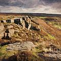 Curbar Edge by Julie Woodhouse