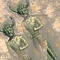 Cyprus Gods Of Trade. by Augusta Stylianou