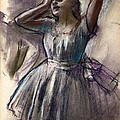 Dancer Stretching by Edgar Degas