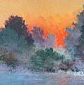 Dawn Mist by Keith Burgess