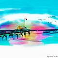 Daybreak At Pawleys Island by Frank Bright