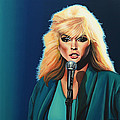 Deborah Harry or Blondie Painting by Paul Meijering