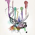 Deer by Mark Ashkenazi