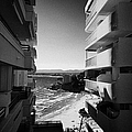 Densely Packed Salou Waterfront Properties On The Costa Dorada Catalonia Spain by Joe Fox