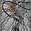 Derailluer On Map by William Cauthern