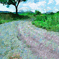 Dirty Road Painting by George Fedin and Magomed Magomedagaev