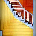 Distorted Stairs by Farol Tomson