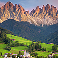 Dolomites From Val Di Funes by Brian Jannsen