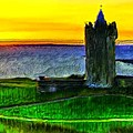 Doonagore Castle by Bruce Nutting
