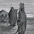 Dore, Paul Gustave 1832-1883. La Sainte by Everett