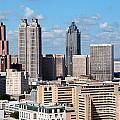 Downtown Atlanta by Bill Cobb