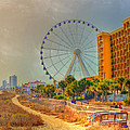 Downtown Myrtle Beach by Kathy Baccari