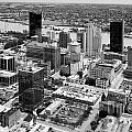 Downtown Skyline Of Toledo Ohio by Bill Cobb