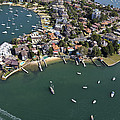 Drummoyne Bay, Sydney by Brett Price