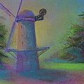 Dutch Windmill 02 by Pusita Gibbs