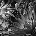 Dynamic Floral Fantasy by Ricardo Chavez-Mendez