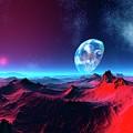 Earth-like Alien Planet by Mehau Kulyk/science Photo Library