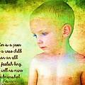 Ecclesiastes 4 13 by Michelle Greene Wheeler