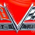 396 Turbo Jet Emblem by Pamela Walrath
