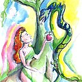 Eve And The Serpent by Suzanne Ackerman