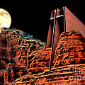 Evening Worship by Barbara D Richards